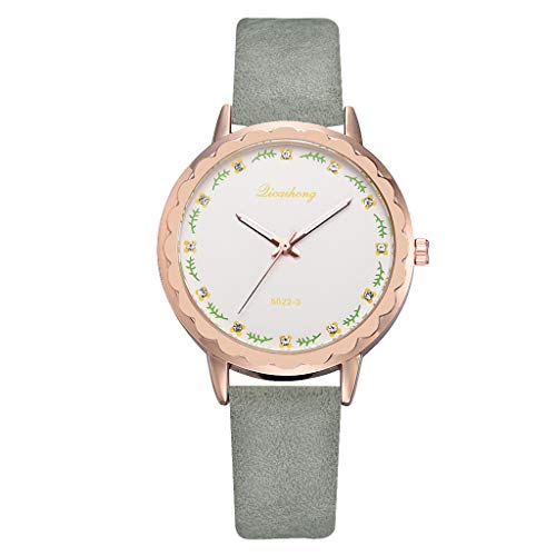 ROVNKD Multiple colours work simple and simple casual multicolour art leather with ironing lady watch fashionable charm. - - One size fits all