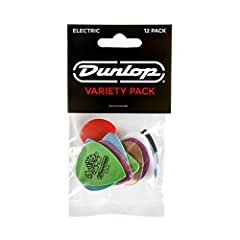 A selection of picks that perfectly complement the tone and playability of Electric instruments Features a variety of materials, shapes, and gauges to fit your sound and playing style 12 pack Made in USA