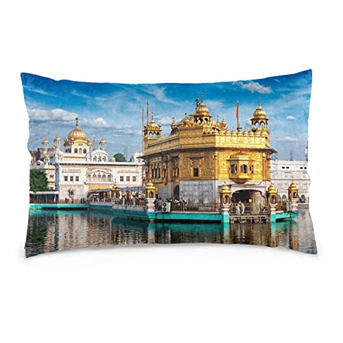 Kissenbezüge 16X24inch Golden Temple, Amritsar Dekokissenbezüge Sofa Auto Kissenbezug Home Dekorativ 40X60CM