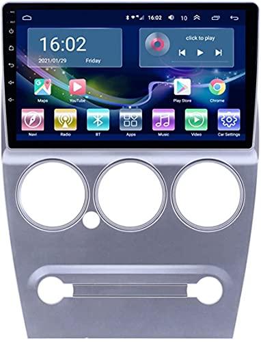 SAJK Estéreo de Coche para Citroen Elysee 2008-2013 Radio Navegación Reproductor Android 10.0 Unidad Principal Carplay 10.1 Pulgadas IPS Pantalla táctil BT/WiFi con cámara de Respaldo