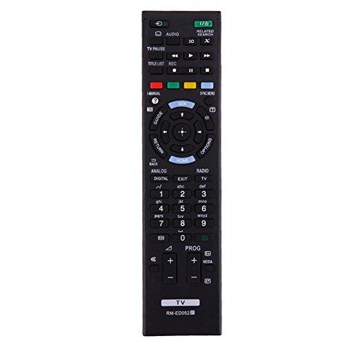 Reemplazo de Control Remoto para Sony TV RM-ED050 RM-ED052 RM-ED053 RM-ED060