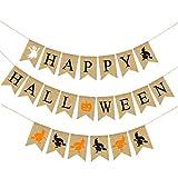 SOONHUA Conjunto de Decoración de Fiesta de Halloween Feliz Banner de Halloween Conjunto de Banner de Halloween Feliz Halloween para Halloween Bar Suministros de Decoración para El Hogar