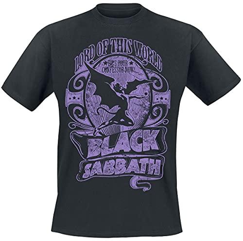 Black Sabbath Lord of This World Männer T-Shirt schwarz S 100% Baumwolle Band-Merch, Bands