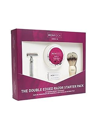 Men Rock Double Edge Razor Shaving Gift Set