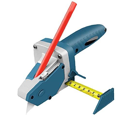 Tablero de tablero de gitano Slicer con cinta métrica Marcador de carpintería Drywall Tablero de espuma Skitter