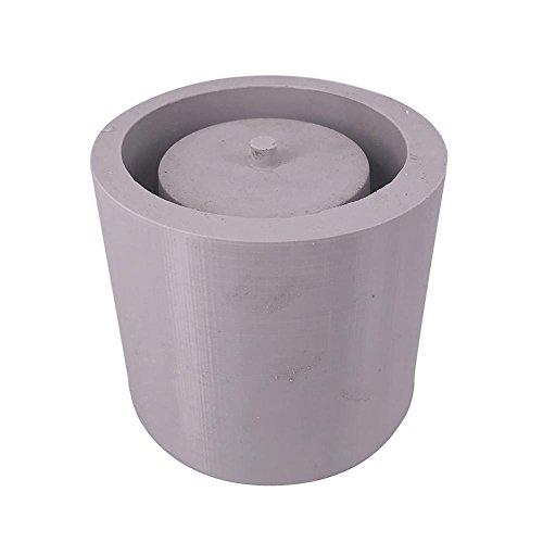 Moule en silicone pour plante Pot de fleurs, DIY Gypse Ciment Fleshy Plante Pot de fleurs Moule en silicone