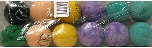 Sky Bounce Farbe Gummi Handb e für Recreational Handball, Stückball, Racquetball, fangen, Apportieren, und viele mehr Spiele, 2 4-Zoll