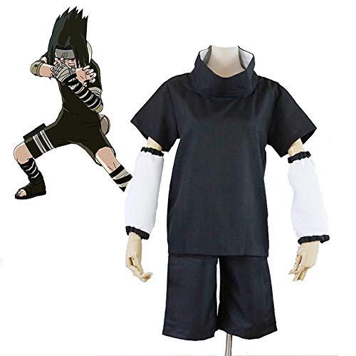 Uchiha Sasuke Cosplay Kostüm Halloween Kostüme Kinder Japanisch Anime Naruto Kampfanzug