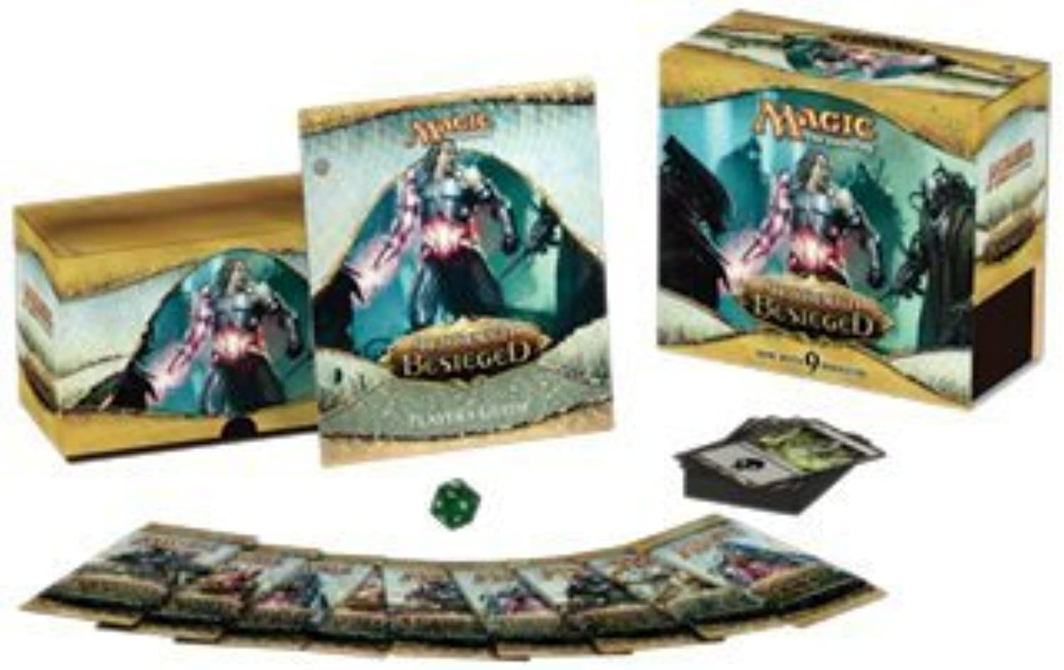 Magic the Gathering - MTG  Mirrodin Besieged - FAT PACK Box by Magic  the Gathering