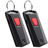 Key Finder, Esky Dual Way Item Locator with 393ft Remote Control and 120db Beep, Rechargeable Bidirectional Anti-Lost Tracker for Finding Key, Wallet and Pet
