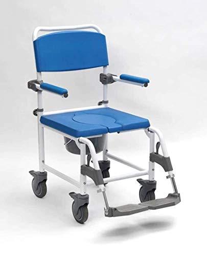 Drive Devilbiss Healthcare Aston Mobiler Toilettenstuhl/Dusche Stuhl mit vier gebremste Rollen