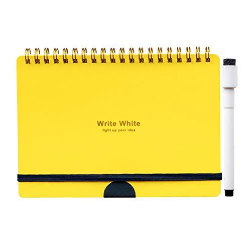 学研ステイフル ww ホワイト ホワイトボードノート ボード ノート b 6 イエロ