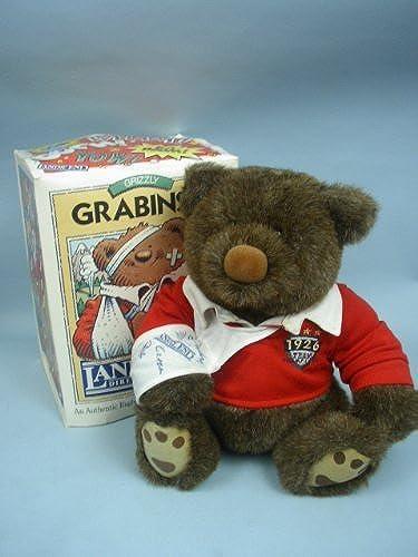 Grizzly Grünski Land's End Rugby Bear 16 Plush by Land's End Inc   Gund