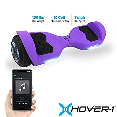 Hover-1 Helix Electric Hoverboard Scooter, Purple