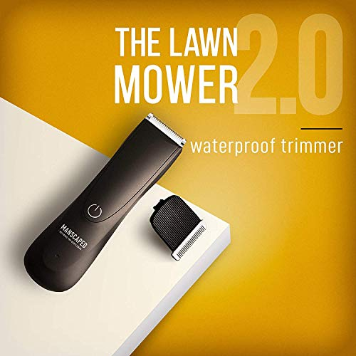 MANSCAPED Perfect Package 2.0 Kit: The Lawn Mower 2.0 Electric Groin Hair Trimmer, Ball Deodorant, Body Wash, Performance Spray-on-Body Toner, 4-Piece Luxury Nail Kit, Toiletry Bag, Shaving Mats