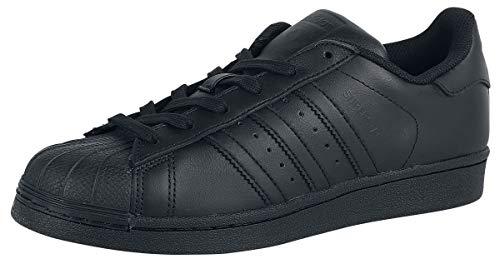 adidas Superstar, Scarpe da Fitness Uomo, Nero (Core Black/Core Black/Core Black), 43 1/3 EU