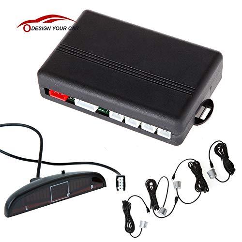 Best Buy! Udele-Store - DC 12V 4 Sensors Universal Digital LED Display Car Parking Sensor Assistance...