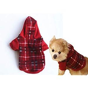 Lanyarco Striped Shirt Pajamas for Dog Clothes