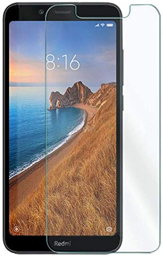 MUNDDY Protector de Pantalla para Xiaomi Redmi 7A Cristal Vidrio Templado,Espesor 0,30 mm,2.5D Round Edge,[9H Dureza] [Alta Transparencia] [Sin Burbujas] (1 Protector)