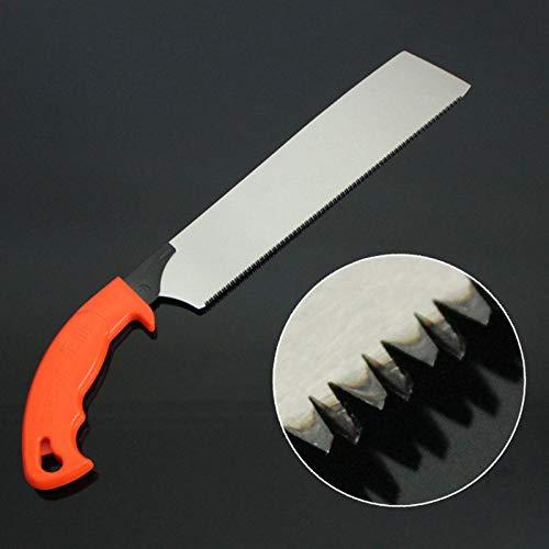 XiaoOu Scie à Jardin Pull Saw 416mm Outils à Main pour Slim Tenon Woodworking Precise Saw scie d'élagage, Type B