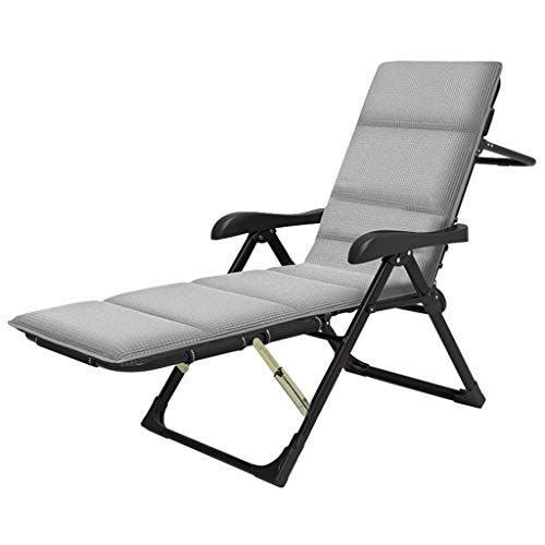 WYJW Folding camping chairs Camping bed Adjustable seat Upholstered fishing bed Robust garden chair Reclining chair Adjustable chairs with cushion holder 250 kg