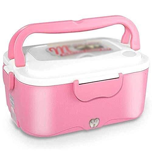 Lqpfx-fh Caliente de la calefacción Lunchbox 1.5L, almuerzo 24V coche eléctrico caja de acero inoxidable Recipiente, Alimento almacenamiento extraíble portátil for la oficina, la escuela, la i