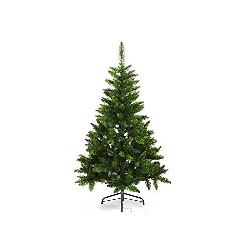 Sapin de Noël artificiel blooming VERT - Hauteur 1m50 - 369 Branches - Qualité luxe