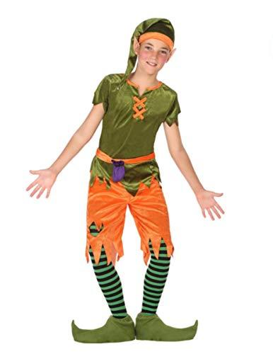 Atosa-56913 Disfraz Duende, Color Verde, 5 a 6 años (56913)
