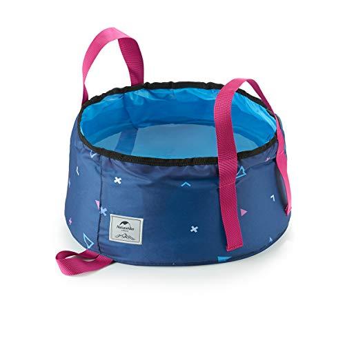 TRIWONDER Multifunktionale Faltbare Tragbare Reise Outdoor Waschbecken Falten Eimer für Camping Wandern Reisen Angeln Waschen (Blau - 16L)