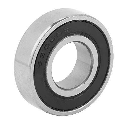 Rodamiento de bolas de ranura profunda 10 piezas doble sellado 10 mm x 22 mm x 6 mm rodamiento de metal de acero para proyectos de bricolaje de varilla de eje de 10 mm
