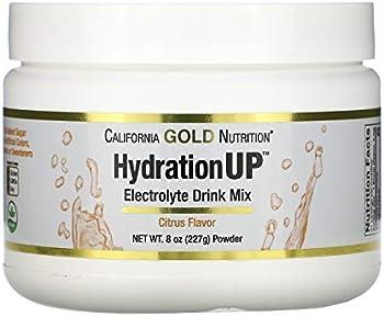 California Gold Nutrition Electrolyte Drink Mix Powder, 8 oz