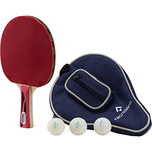 TECNOPRO Expert Pro Tischtennis-schläger-Set, schwarz, One Size