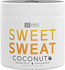 ► SWEAT HARDER, SWEAT EARLIER | Sweet Sweat enhances your workout by improving activity & helping you to achieve a better sweat ► ACTIVATED BY YOU | Sweet Sweat is activated by your elevated heart rate - Made with natural oils including Organic Cocon...