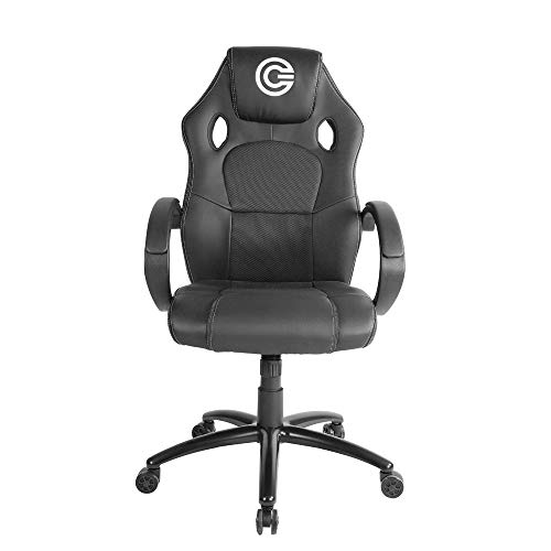 CIRCLE Gaming CH50 Black All Moulded Foam Chair