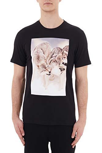 BOSS Mens Tomio 4 T-Shirt, Black (1), XL