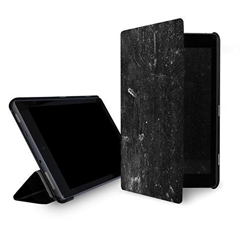 caseable - Custodia per Fire HD 8 (tablet 8'', 7ᵃ e 8ᵃ generazione, modelli 2017 e 2018), design: Grundge