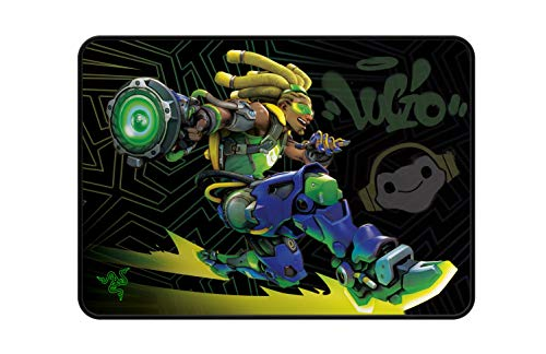 Razer Goliathus (Overwatch Lucio Edition) - Weiche Gaming Maus-Matte (Esports Mousepad mit reibungsfreier Oberfläche aus Stoff, gesteppter Rand, rutschfest, optimiert für alle Mäuse, abwischbar)