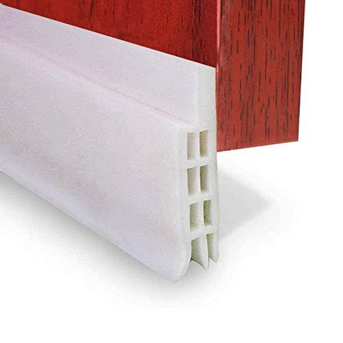 EXTSUD 2M Selbstklebende Tür Türdichtung Dichtungsstreifen Zugluftstopper gegen Insekt Ersatzdichtung Wetterfest Blocker Schalldichtung Silikon Türstopper 200 * 5cm