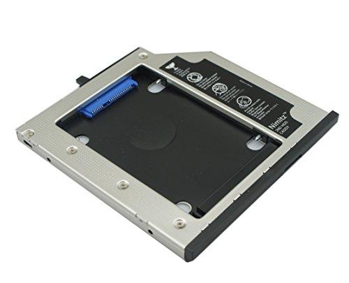 2nd HDD SSD Nimitz Festplattenrahmen für Lenovo Thinkpad T400 T400s T410 T410s T420s T430s T500 W500