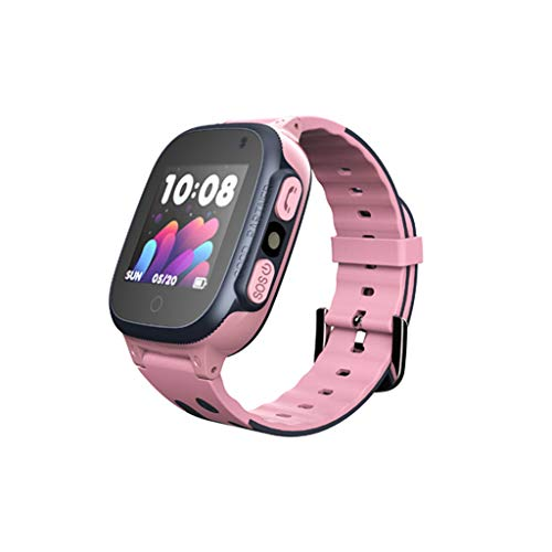 Kariwell GPS Child Positioning Mobile Phone Watch - Accurate Location/Safe Incoming Calls/Walkie Talkie/Safty Zone/Pedometer/Sleeping Monitiring/History Route/Anti-Lost Kari-204 (Pink)