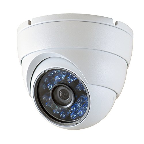 SmoTecQ Hybrid HD 2.0MP 1080P AHD/CVI/TVI/960H 1000Tvl Dome Security Camera Day Night Vision 24 IR-LEDs Waterproof Outdoor/Indoor Wide Angle 3.6mm Lens for CCTV Camera System (Default 960H Mode)