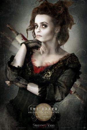 Sweeney Todd : Demon Barber of Fleet Street – Helena Bonham Carter – Film Poster Plakat Drucken Bild - 43.2 x 60.7cm Größe Grösse Filmplakat