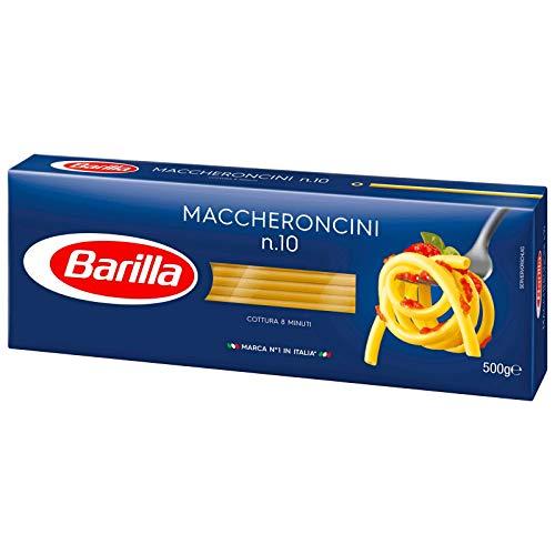 3x Barilla Nudeln 'Maccheroncini', n.10, 500 g