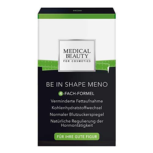 MEDICAL BEAUTY® BE IN SHAPE MENO | Mit 4-fach-Abnehmformel | Top-Wirkstoff ID-AlgTM für verminderte Fettaufnahme | Stoffwechsel | Blutzuckerspiegel | für Ihre gute Figur | Vegan | Inhalt: 45 Kapseln