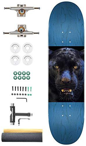 Mini Logo Panther Eyes Aangepaste Complete Pro Skateboard Kit - 8.0