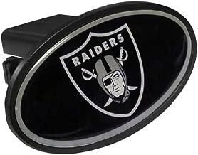 Siskiyou NFL Oakland Raiders Plastic Logo Hitch Cover, Class III