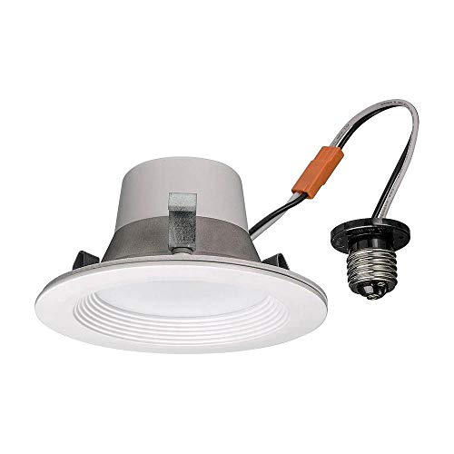Commercial Electric T42 4 in. Matte White Recessed LED Smart Downlight