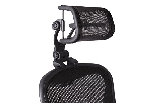 Engineered Now Headrest for Herman Miller Aeron Chair Classic Edition - H4 Carbon (COLORS MATCH CLASSIC AERON CHAIRS 2016 AND EARLIER MODELS) (Renewed)