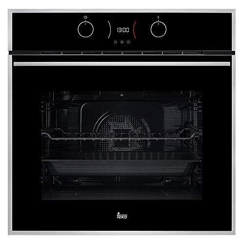 Horno Teka Pirolítico HB-74AR521E   9 funciones de cocinado, Pantalla LED, Función descongelar, Touch Control con programación de inicio y paro de cocción,  5 alturas de cocinado y opción de Calentamiento rápido.