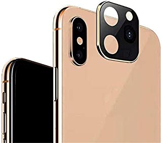 Metal Back Camera Lens Film Tempered Glass for iphone X XS MaX, Lens Circle Seconds Change to iphone 11 pro MaX Camera pro...